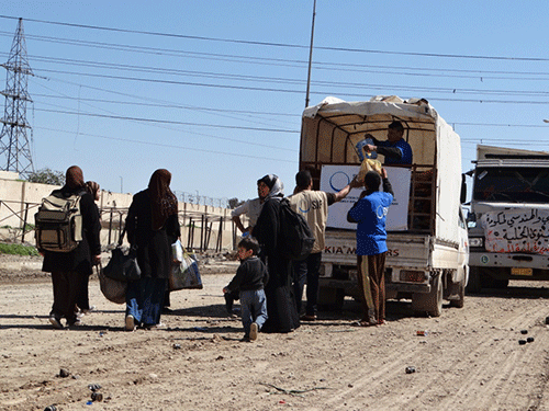 Irak distribution alimentaire